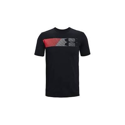 UA FAST LEFT CHEST 2.0 SS-BLK