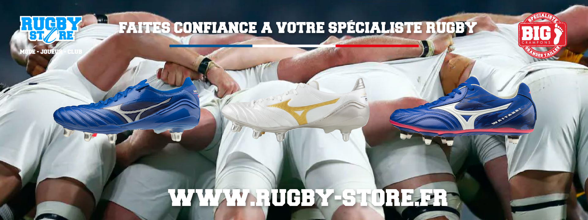 rugby store crampons
